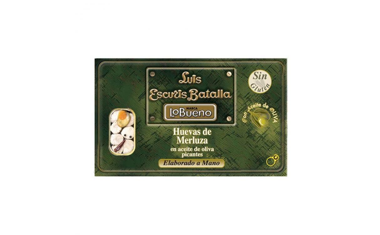 Huevas de merluza Luis Escuris Batalla en aceite de oliva picantes 120 g
