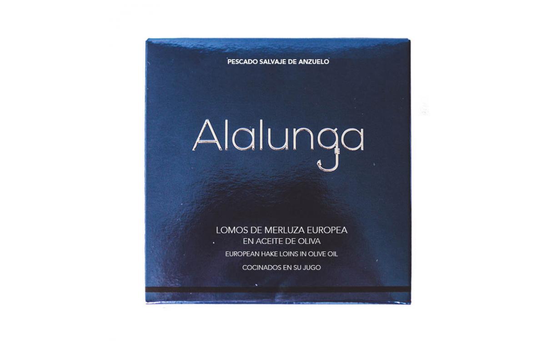 Lomos de Merluza en Aceite de Oliva Alalunga
