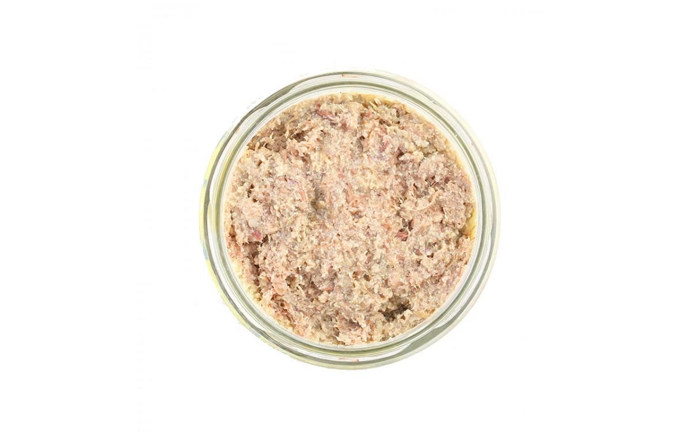 Rillettes con foie gras 180gr