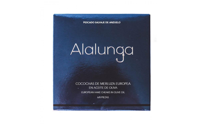 Cocochas en Salsa verde Alalunga 134gr